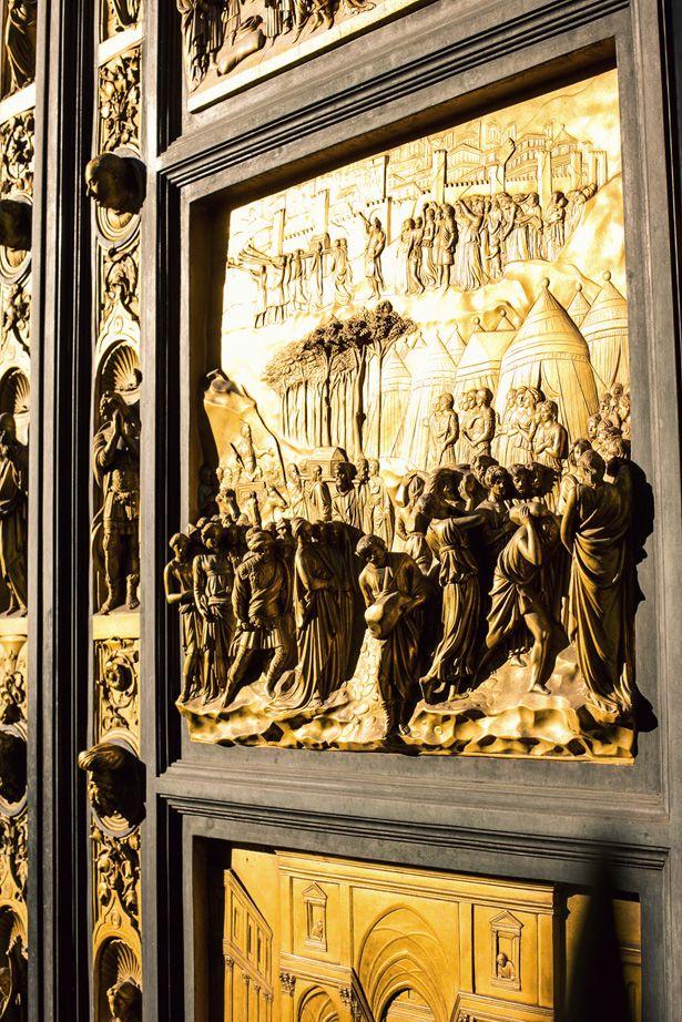 Firenze Porte Battistero Ghiberti
