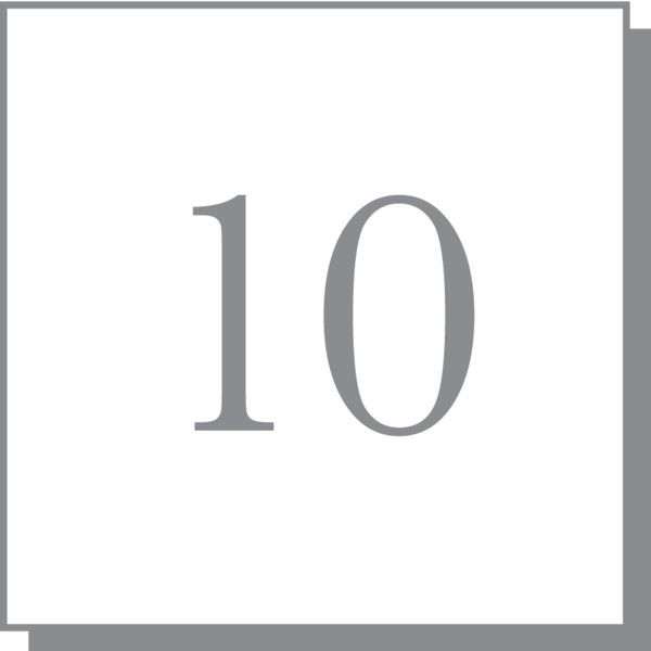 Number 10 Liked On Polyvore Featuring Numbers Arrows Fillers
