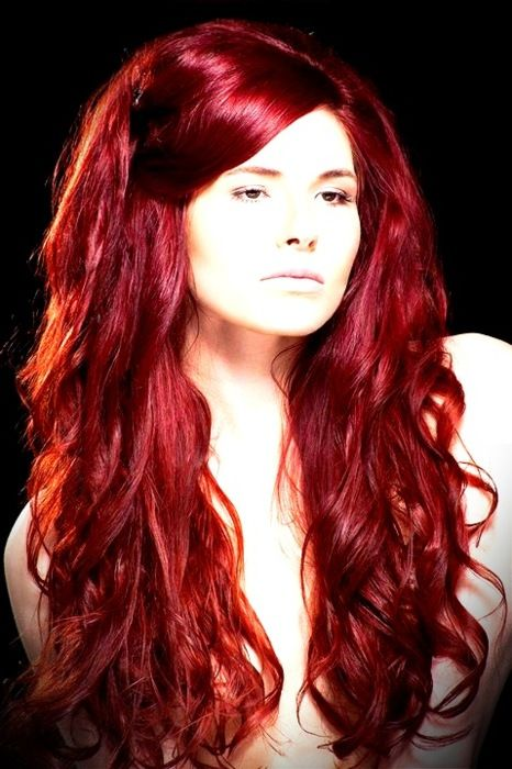 Hair red glam color ideas for women recommendations to wear in summer in 2019