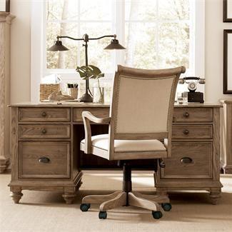 Coventry Executive Desk I Riverside Furniture