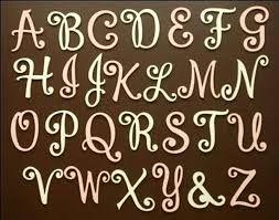Resultado de imagen para letters wood