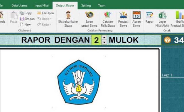 Download Aplikasi Raport Kurikulum 2013 Revisi 2017 Kurikulum Aplikasi Ekstrakurikuler