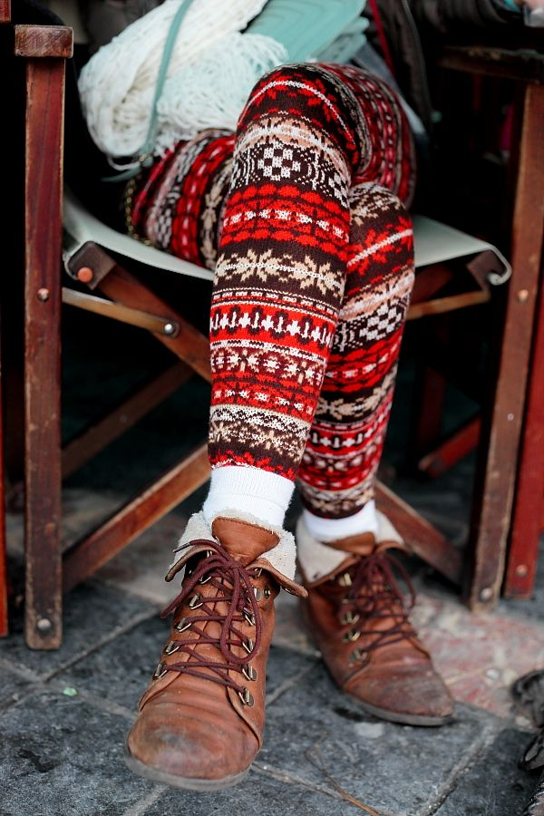 THEFASHIONALISTS: Outside... Aztec for tomorrow.