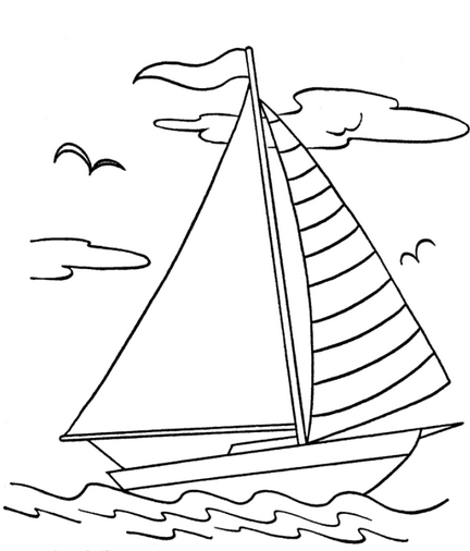 sail boat coloring pages sail boat coloring page | Transportation | Coloring pages  sail boat coloring pages