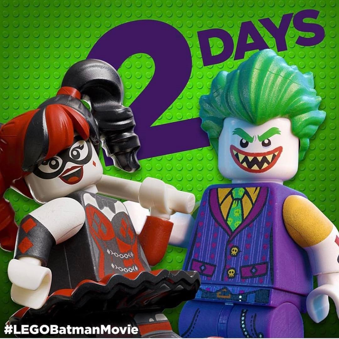 "112 Synes godt om, 1 kommentarer – I'm Rick James Bricks (@imrickjamesbricks) på Instagram: ""Have you entered our LEGO Batman Movie competition yet? 2 days left to enter! We are open 10am -…"""