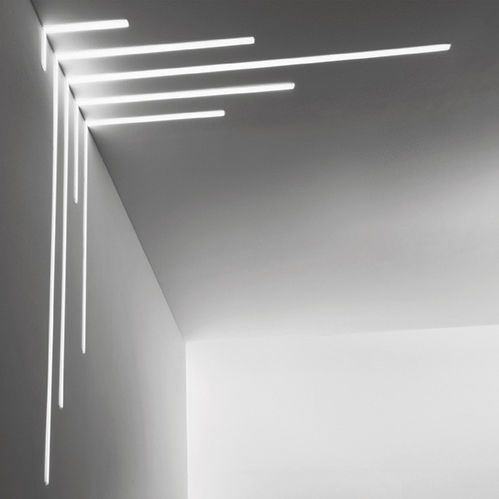 Perfil De Iluminacin De Techo Empotrable Led Regulable For - Iluminacion-de-techo