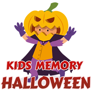 Kids Memory Halloween - http://www.android-logiciels.fr/listing/kids-memory-halloween/