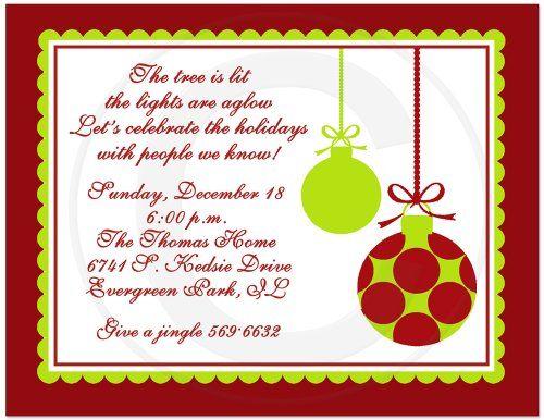 Printable Christmas Party Invitations Free Templates cards - free templates christmas invitations