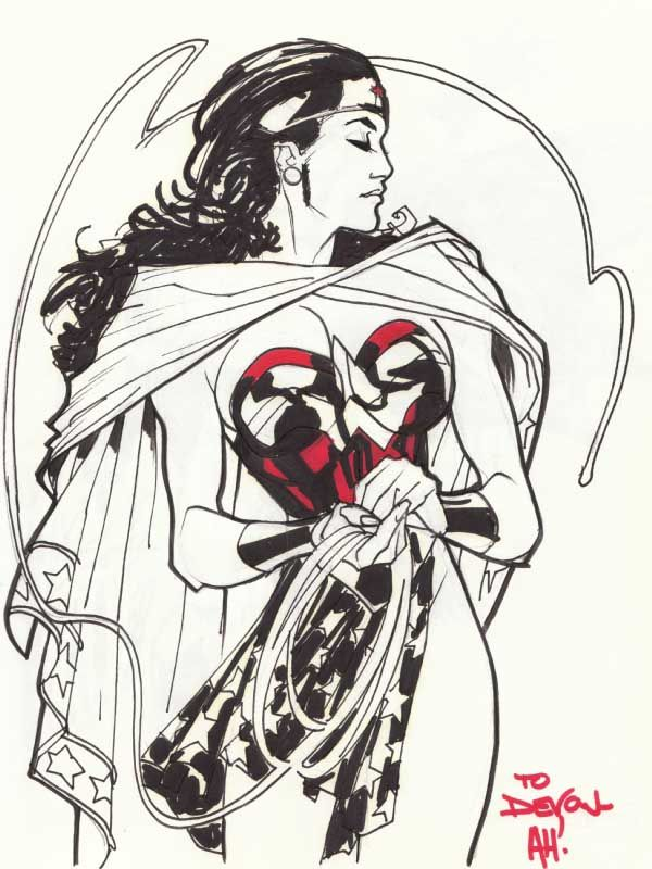 The Women Of Dc Comics Ink In Adam Withers S Dc Comics: DC Characters & Artists