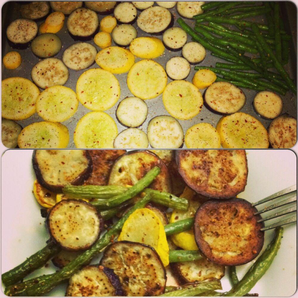 20 Creative Vegetarian Eggplant Recipes: Roasted Veggie Recipe...easy, Pretty And Flavorful! Coat