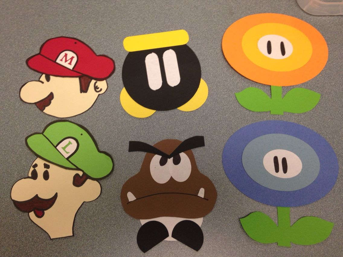 Super Mario door decks. & Super Mario door decks. | Door decs | Pinterest | Door decks Door ... Pezcame.Com