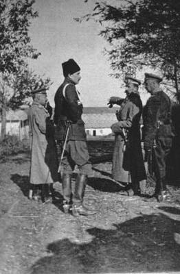 Mannerheim Galitsian sotatoimien aikana vuonna 1915