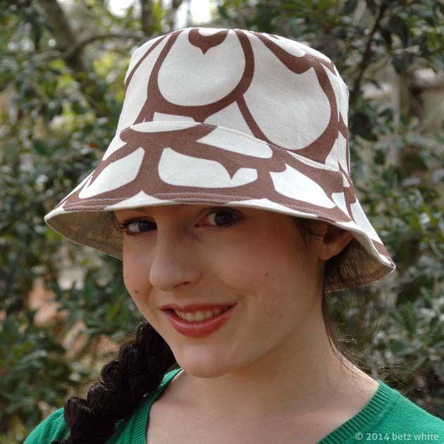 4c4f88d0c30 betz white reversible bucket hat pattern - sew along tutorial