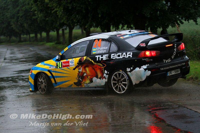 Vitaliy Pushkar - Ivan Mishyn (UA), Evo X Rally Car, IRC
