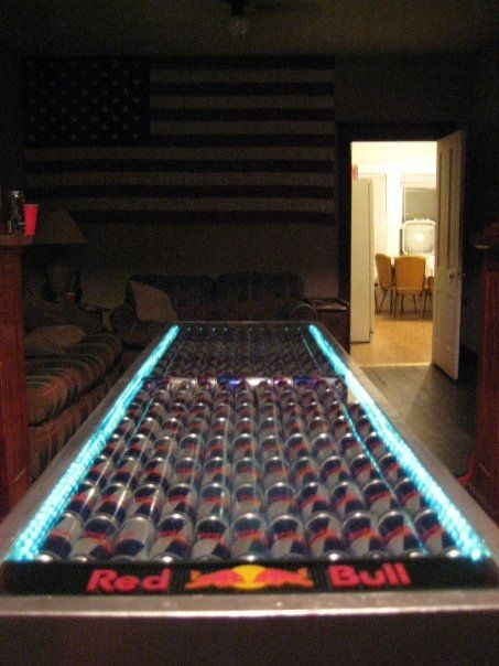 Red Bull Beer Pong Table Wohnung