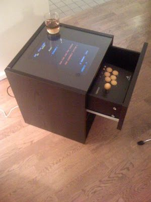 Mame Coffee Table.Ikea Hack Mame Book Arcade Hack Arcade Cabinet Projects Coffee