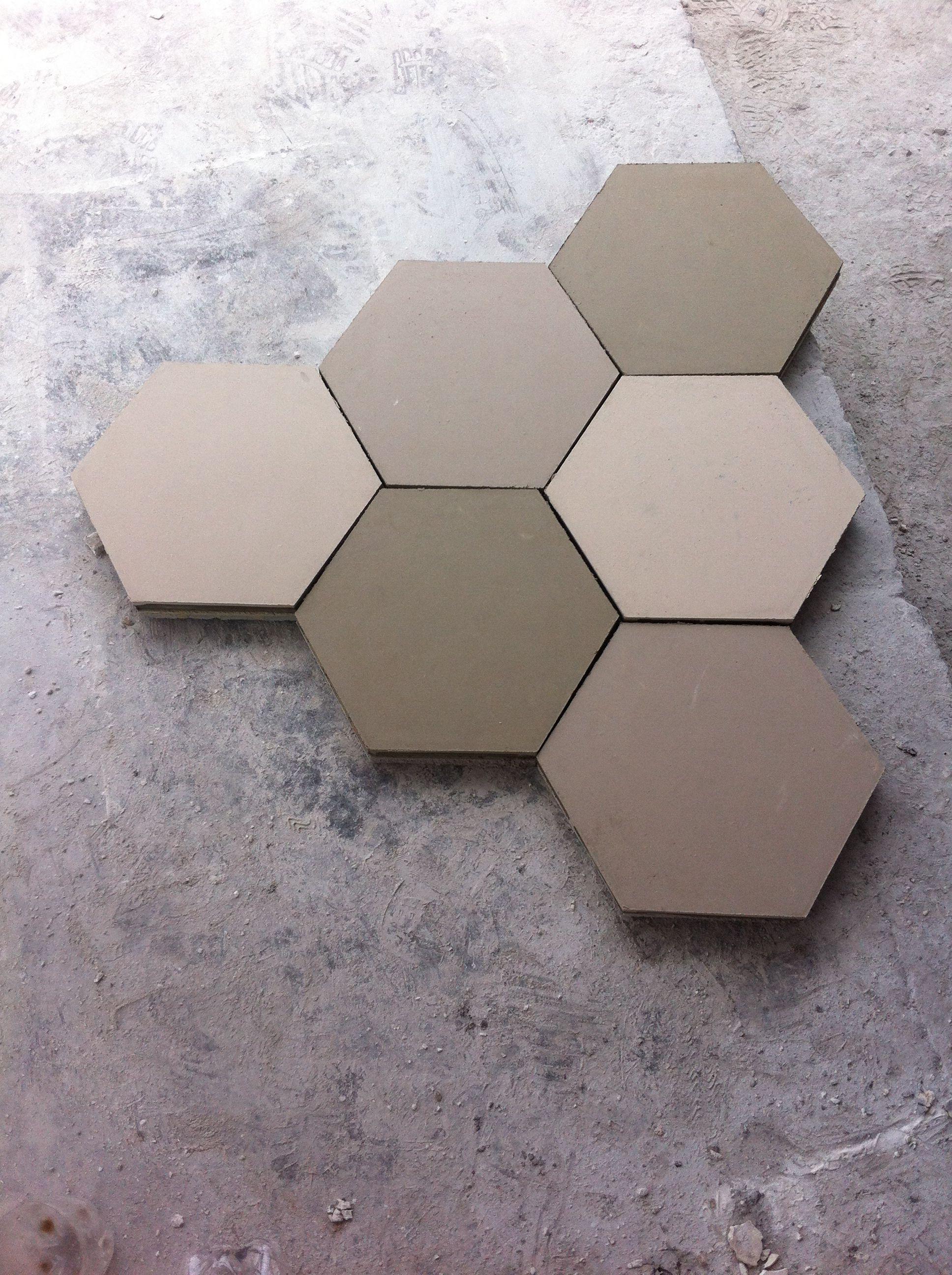 mosaico de pasta hexagonal liso. Excelente opcion para un ambiente ...