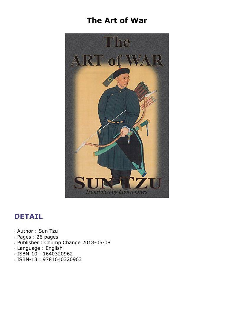 The Art Of War Children Book Cover Cursed Child Book Art