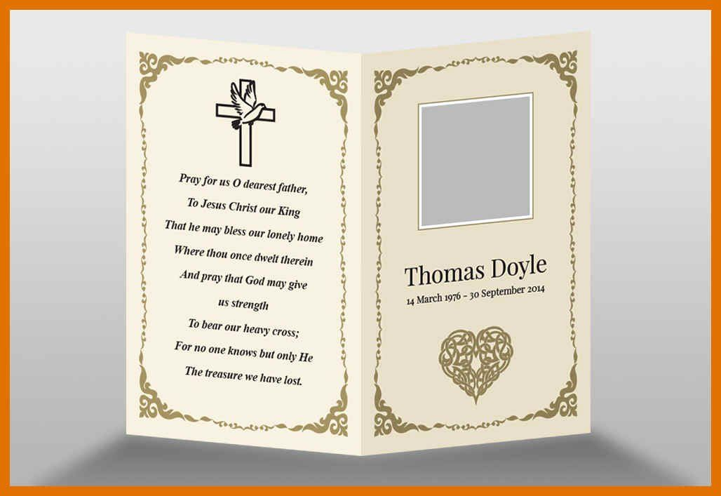 Memorial Card Templates Free Download New 73 Best Printable Funeral Program Templates Images O Funeral Templates Free Memorial Cards For Funeral Memorial Cards