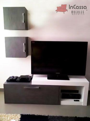 Centro de entretenimiento mod suez precio 3 990 for Muebles maldonado precios