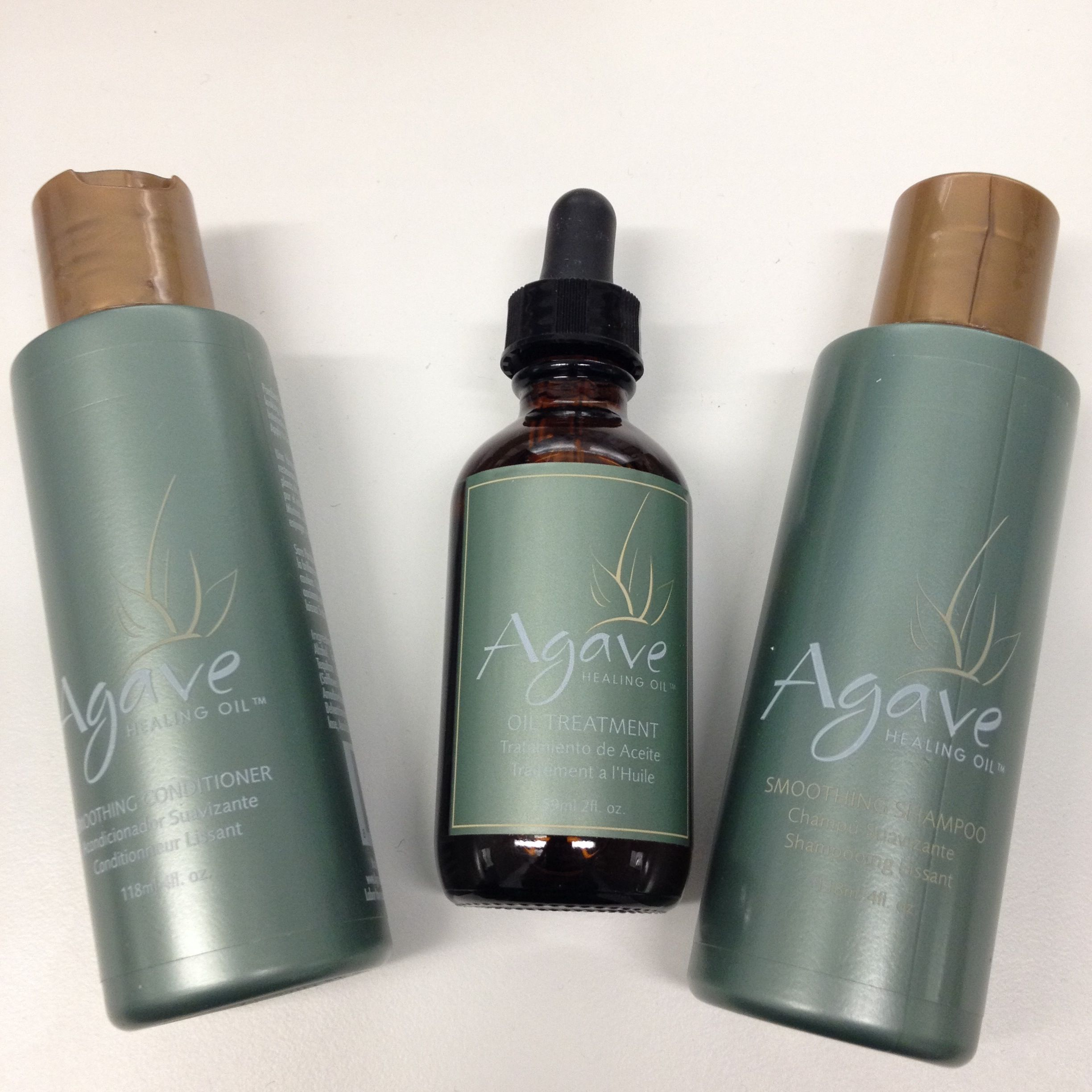 Agave one of the best products for dry.damaged hair smells