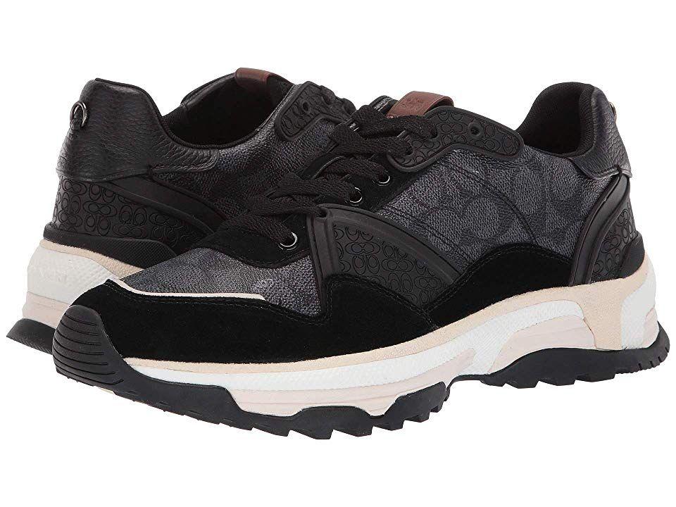COACH C143 Runner Men's Shoes Black