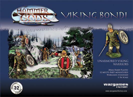 Viking Bondi Vikings Wargames Factory Viking Warrior