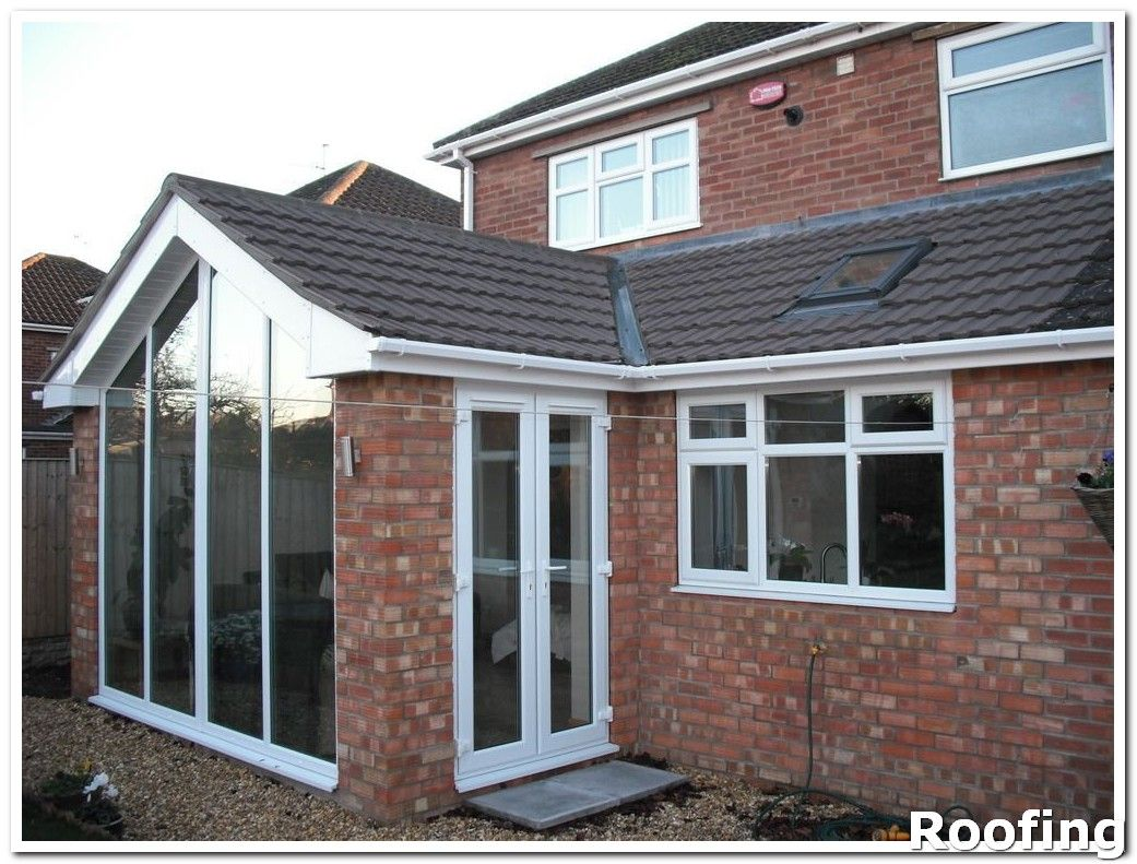 If Someone Comes To Your Door And Offers You A Free Roof Question Their Motives Don T Let Them Garden Room Extensions House Extension Design House Extensions