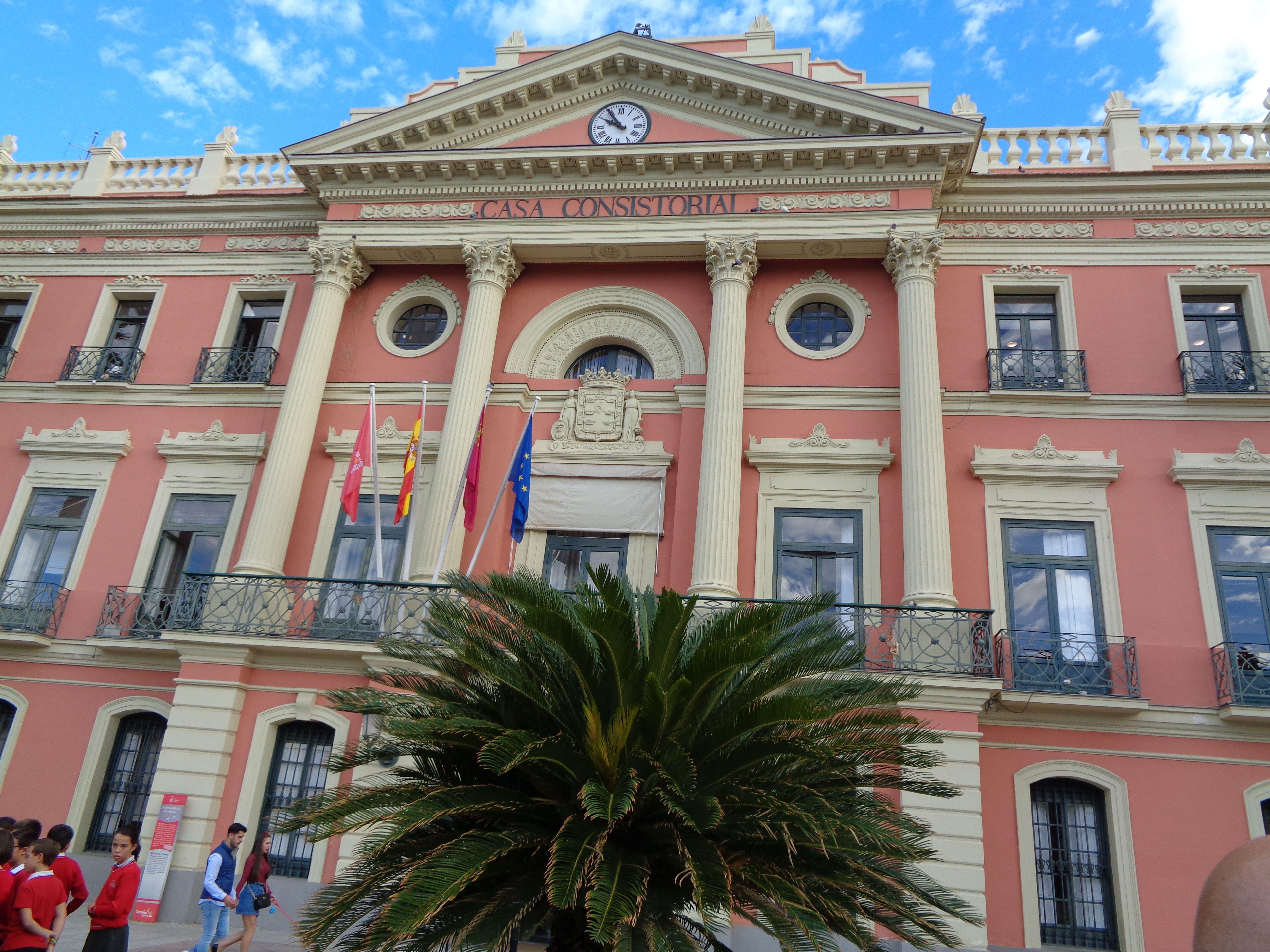 La Casa Consistorial de Murcia. Casa consistorial, Murcia