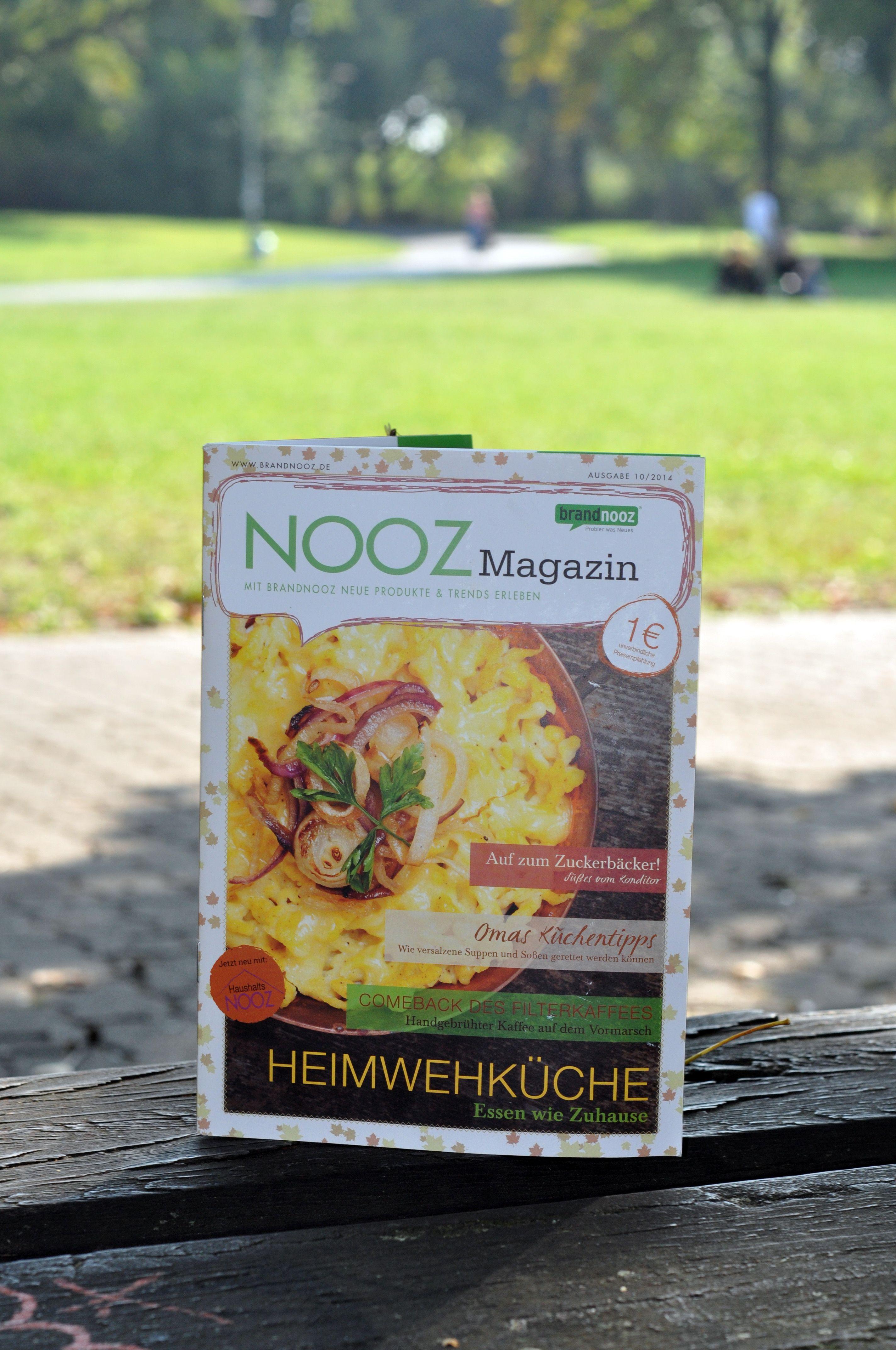 Darf ich vorstellen? Das NOOZ Magazin für den September. Mit vielen spannenden Berichten, leckeren Rezepten und hilfreichen Tipps aus Omas Küche starten wir langsam in den Herbst.