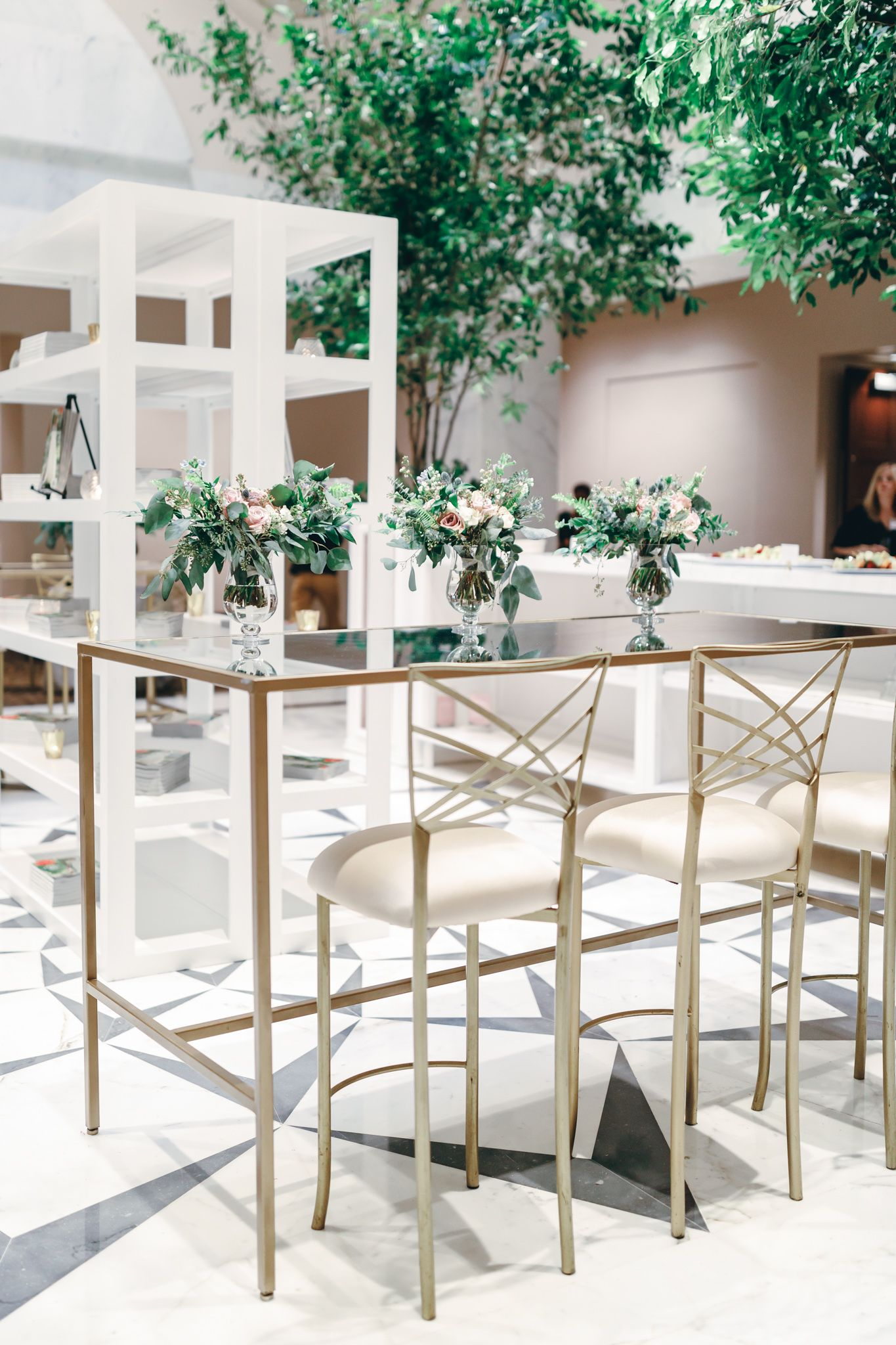 Gold Bar High Table and Chairs en 2020