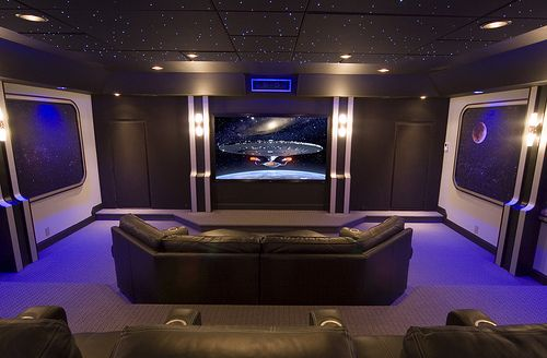 Doctor Who Meets Star Trek In Sci Fi Theater Home Theater Setup