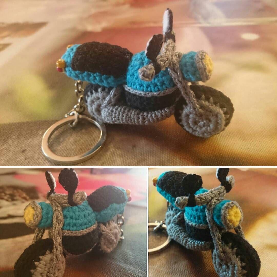 loli_crochet:: Por fin acabado mi ultimo reto!!!una moto#llavero ...