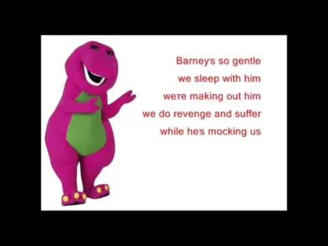 Barney Song Backwards - YouTube | Theme songs backwards