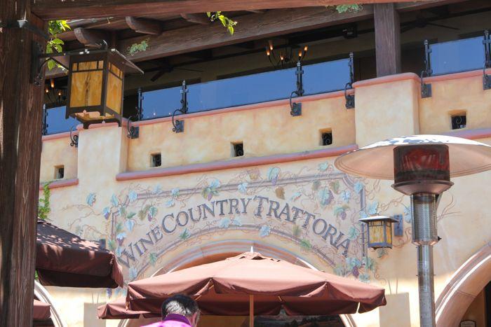 Wine Country Trattoria at California Adventure
