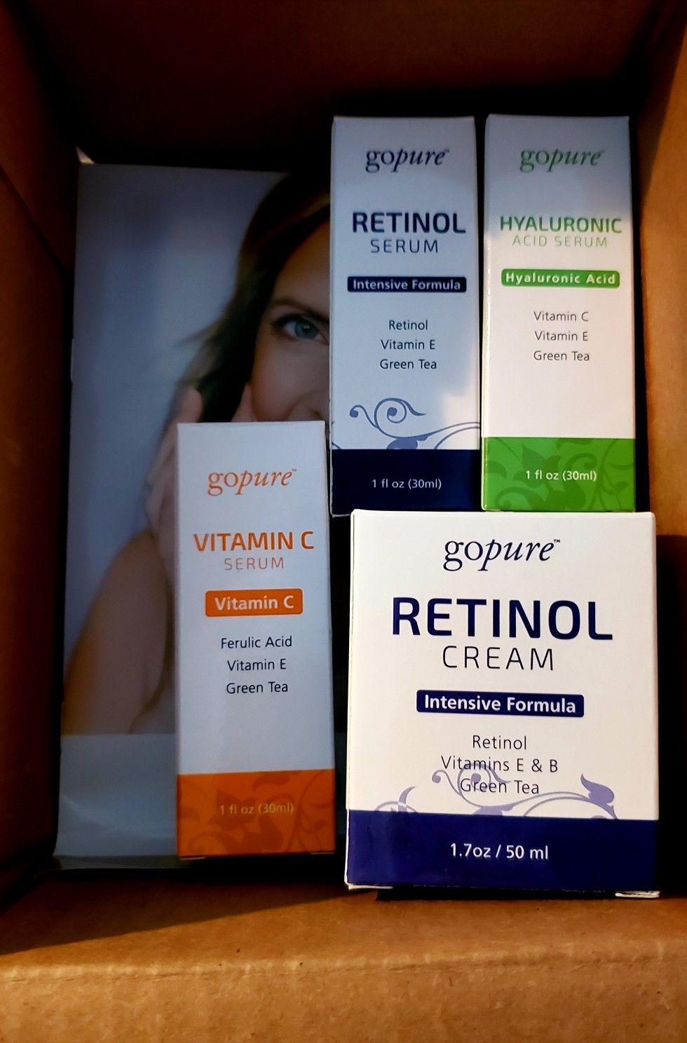 Easy no hassle skincare. Go Pure. Skin care, Facial skin