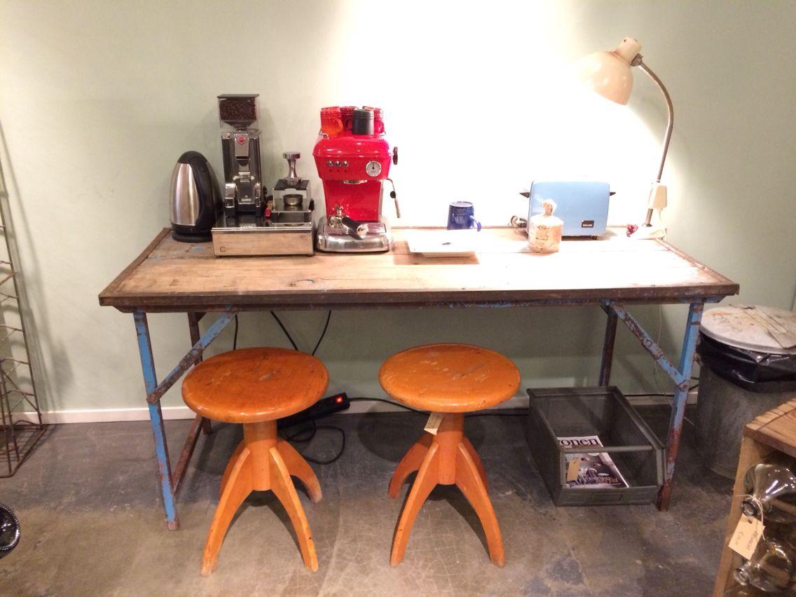 Hay Copenhague Tafel : Industrieel bureau tafel jongenskamer w
