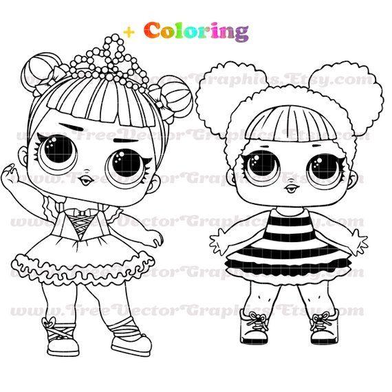 Printable Lol Svg Lol Dolls Svg Files For Cricut Lol Doll