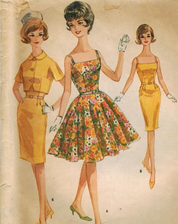 1960s McCall's 6376 Vintage Sewing Pattern by midvalecottage, $12.00