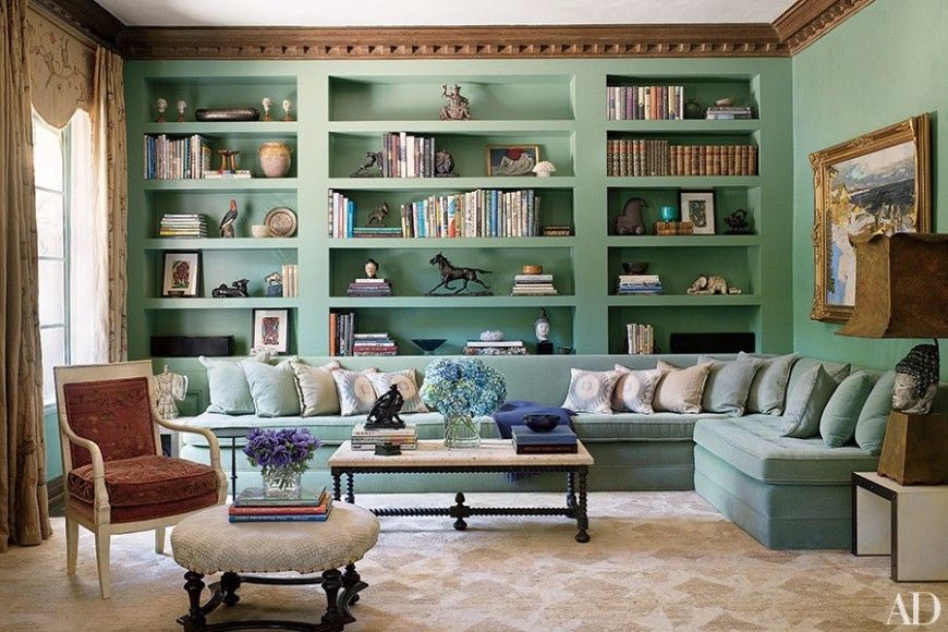 How To Style A BookShelf Behind Your Living Room Sofa Bookshelf Amazing Bookshelves Living Room Set