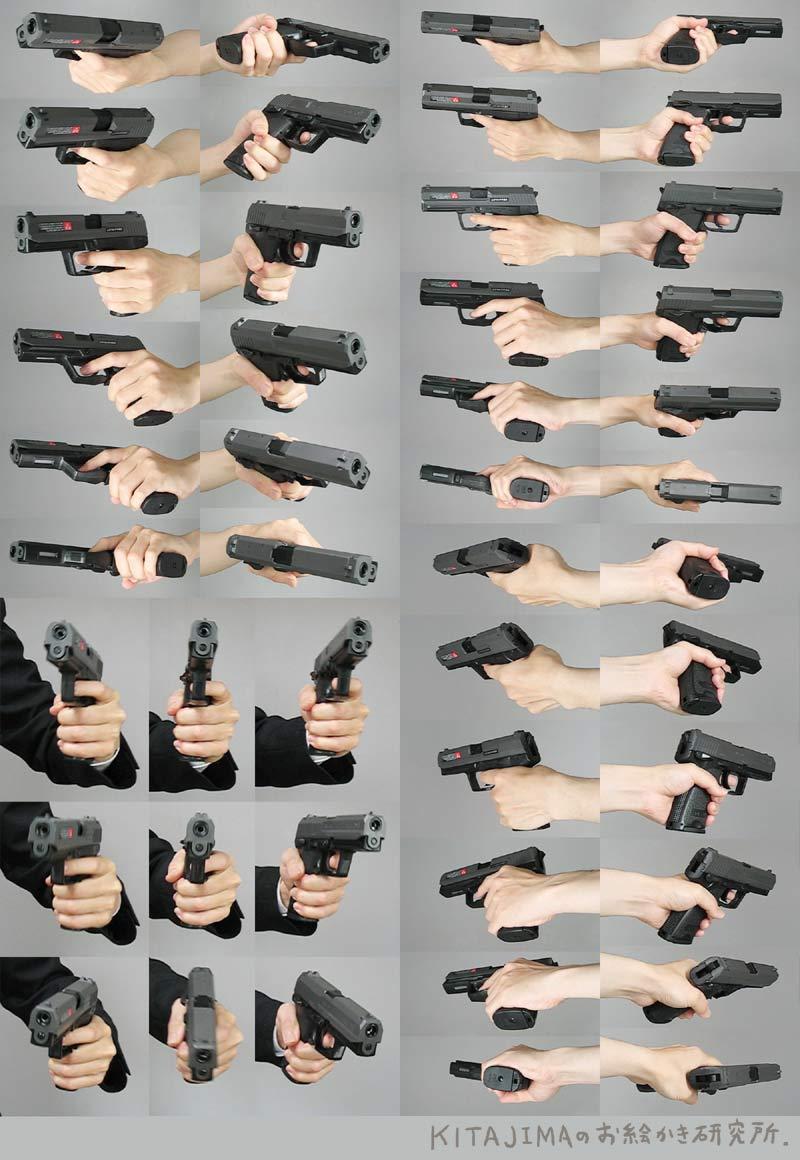 手(武器) | KITAJIMAのお絵かき研究所