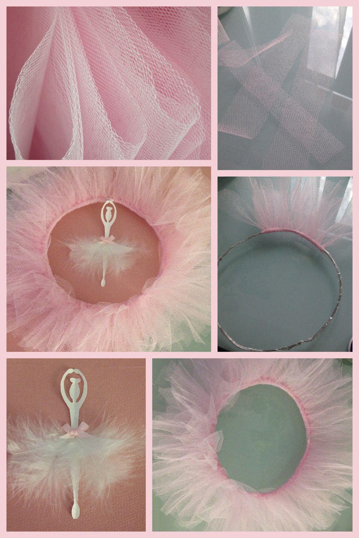 Chambre Danseuse Etoile tout couronne en tulle avec danseuse en papier | ice wedding | pinterest