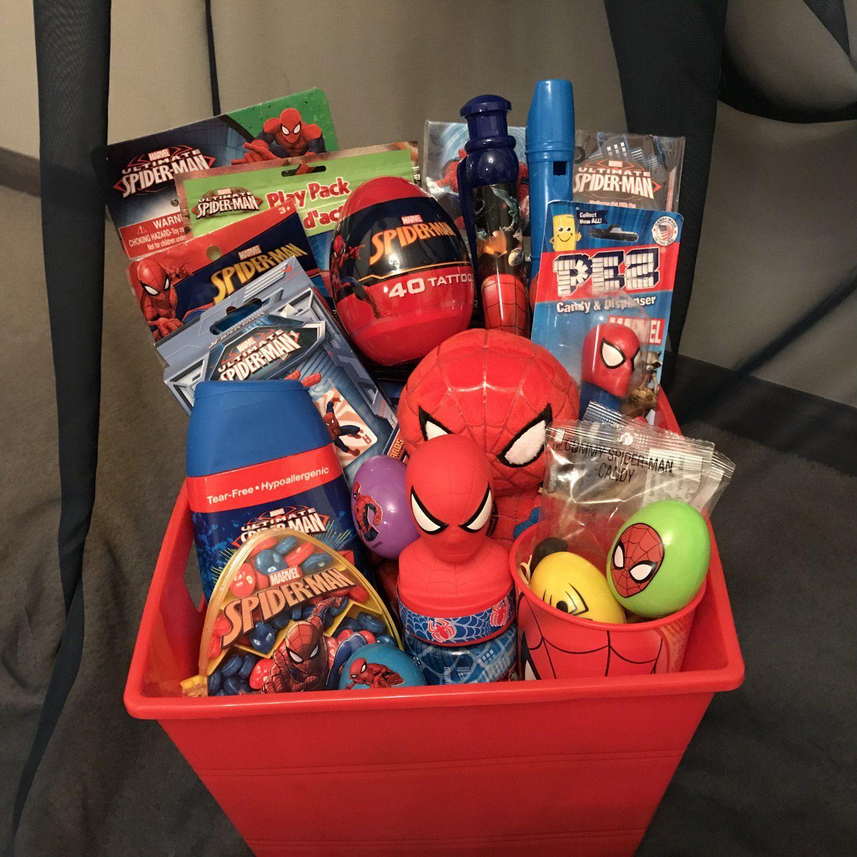 Spiderman Gifts, Kids Gift Baskets