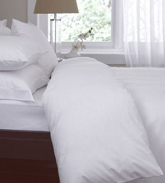 Good LOOP Organic | Minimalist Duvet Cover, Organic Cotton, White, F/Q | $140.25  (on Sale 2/14) | Made In USA