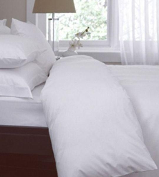 Superieur LOOP Organic | Minimalist Duvet Cover, Organic Cotton, White, F