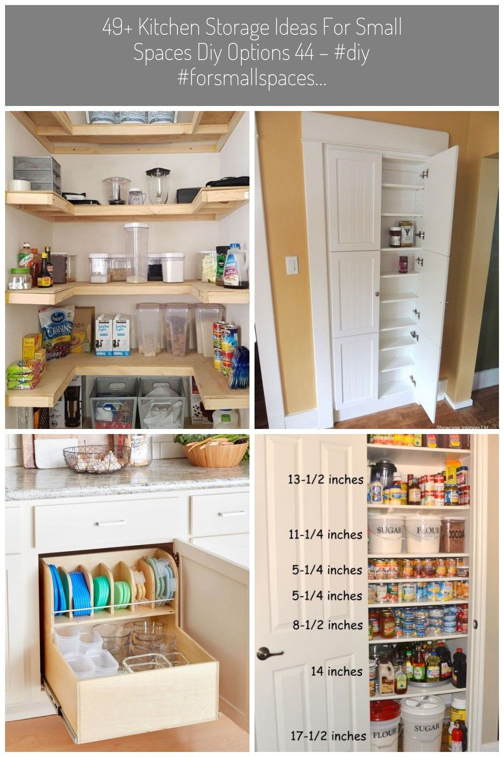 49 Kitchen Storage Ideas For Small Spaces Diy Options 44 Diy Forsmallspaces Ideas Kitchen Op26 Facts Fiction And In 2020 Small Space Diy Kitchen Storage Small Spaces