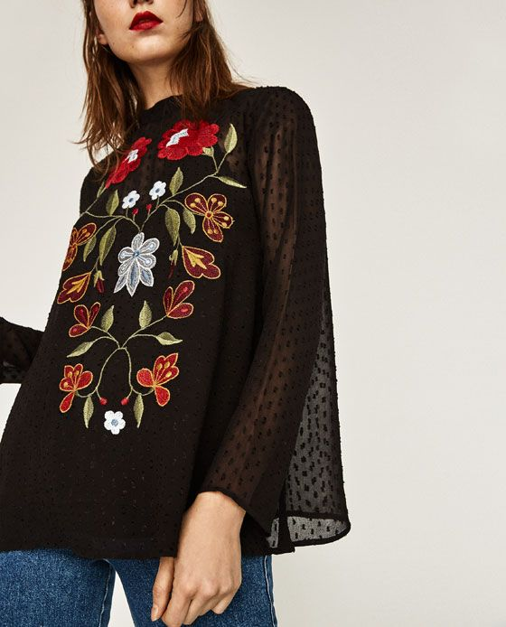 Ethnic pieces from Zara