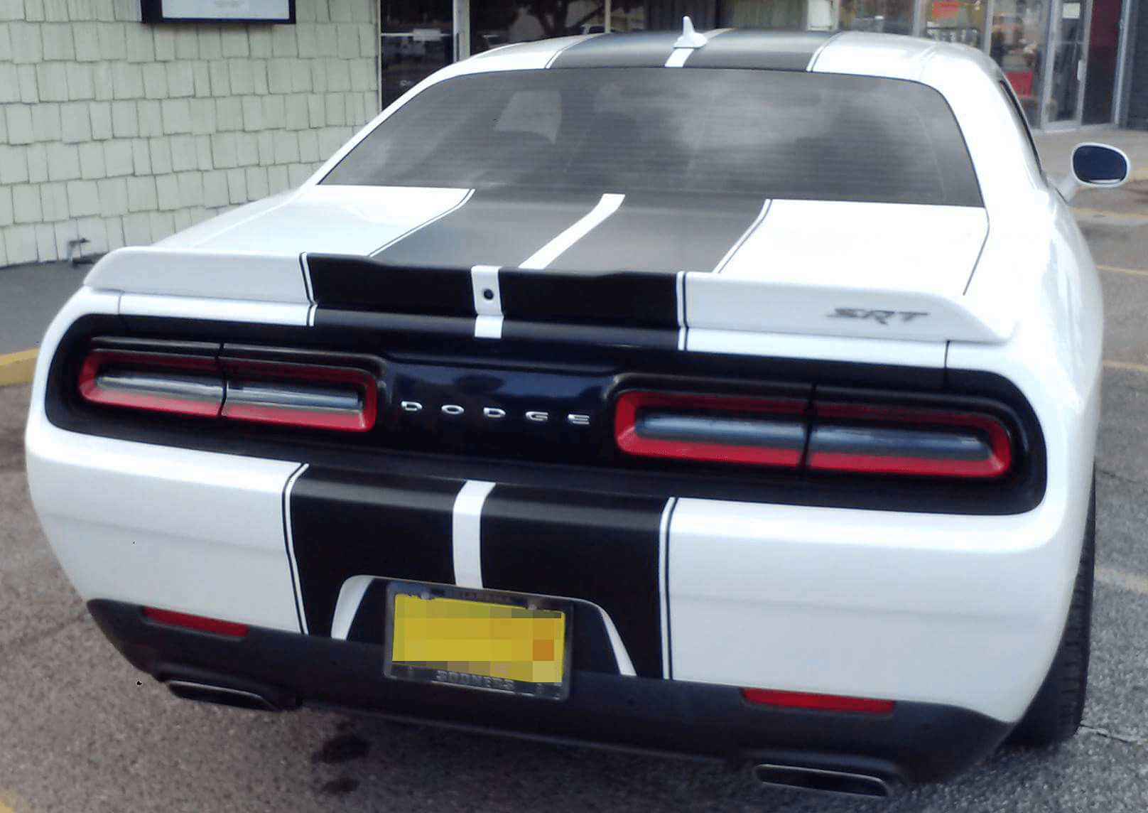 2015 2016 2017 2018 2019 2020 2021 Dodge Challenger Rally Racing Dual Stripes Kit Vinyl Graphics Stripes Decals Kit Fits Sxt Sxt Plus Gt Awd R T R Dodge Challenger Dodge Challenger Sxt Plus Dodge Challenger Sxt