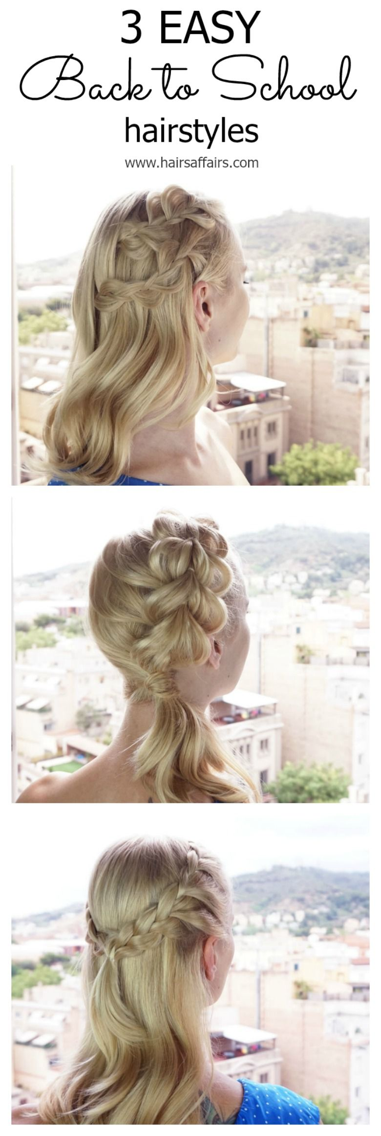 easy back to school hairstyles school hairstyles school and easy