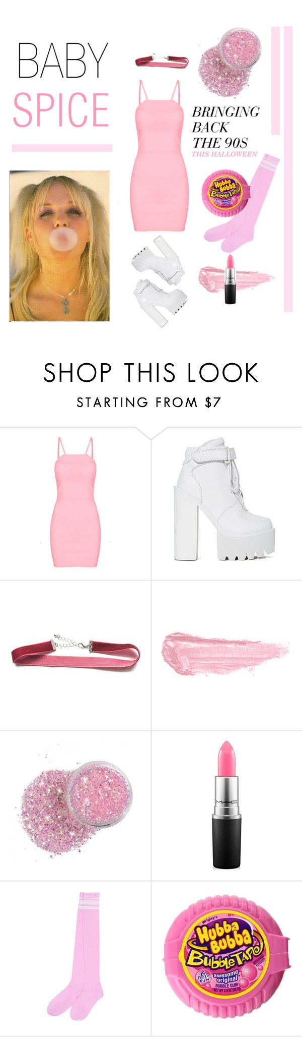 BABY SPICE HALLOWEEN COSTUME by a,le,mode on Polyvore